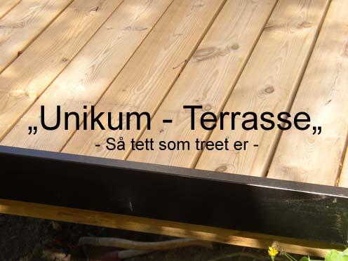 Tett terrassedekke